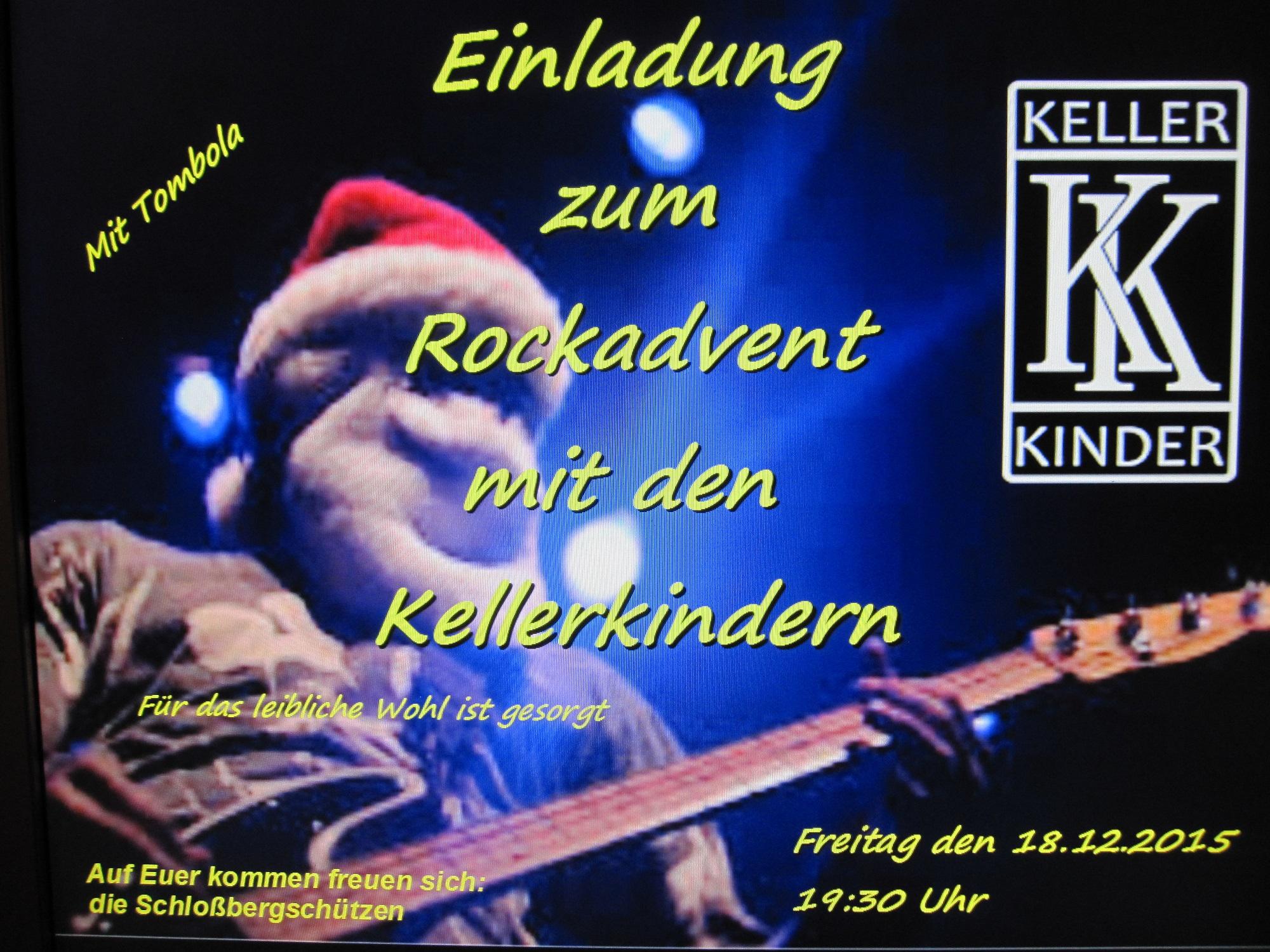 Rockweihnacht 2015_Schlossbergschützen
